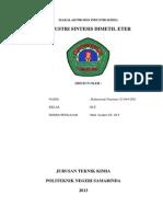 makalah lengkap dimetil eter.docx