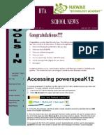 August 2009 HTA Newsletter