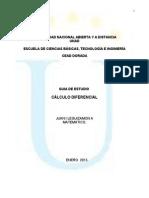 Guia Unificada_calculo Diferencial 2013-1