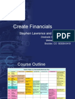 Create Financials