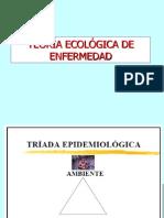 Sesión 2 TEORÍA ECOLÓGICA DE ENFERMEDAD