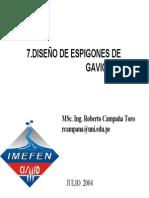 7.-Espigones de Gaviones F-cismid Raul