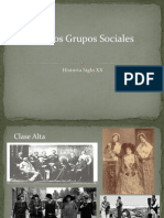 Clases Sociales Siglo XX