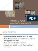 Qualitative Data Analysis / Android Fundamentals