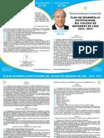 PLAN DE DESARROLLO INSTITUCIONAL DEL COLEGIO DE ABOGADOS DE LIMA 2014-2015