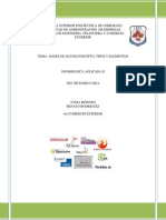 Documento Bases de Datos