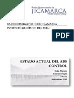 CONTROl ABS Jicamarca