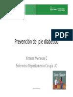 Prevencion Del Pie Diabetico