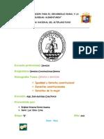 Monografia Genero y Derecho
