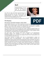 Angela Merkel Biografie