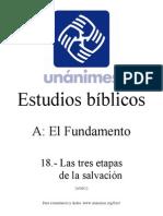 A.18.- Las Tres Etapas de La Salvacion