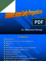 Endo access cavity preparation.ppt