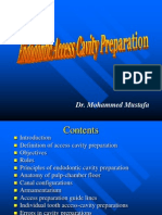 Endo access cavity preparation.ppt
