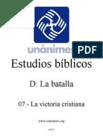 D.07.- La Victoria Cristiana