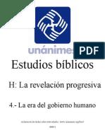 H.04.- La Era Del Gobierno Humano