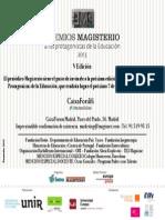 invitación PME2013