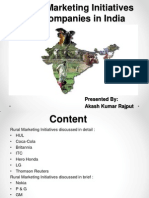Rural Marketing Initiatives by Companies in India.pptx