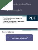 153403470 Kasus Kecil Dr Agus Pneumothorax