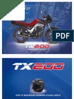 TX200 Moto Italika