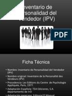 Inventario de Personalidad Del Vendedor (IPV) 1