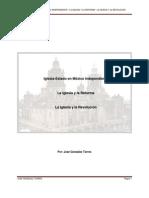 La Iglesia Católica en Mexico Independencia-Reforma-Revolución