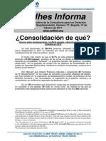 Ultimo Informe Codhes Desplazamiento Forzado Colombia