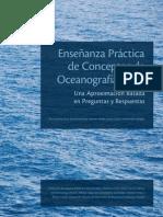 Enseñanza practica de conceptos de Oceanografia