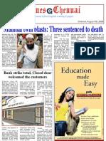 Times Chenni,E Paper 06 August, 2009