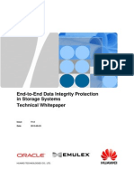 Huawei End-To-End Data Integrity Protection in Storage Systems Technical Whitepaper