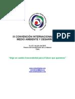 CIRCULAR IX CONVENCIÓN MEDIO AMBIENTE