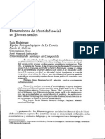 Rodriguez Dimensiones Identidad Social Jovenes Sordos 1997