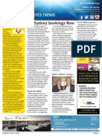 Business Events News for Wed 06 Nov 2013 - ICC Sydney bookings, Auckland, Toga, GIBTM famils, ICCA honour and much more