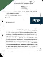 Promotor Roberto Livianu denuncia Maluf por Improbidade na construção do Túnel Ayrton Senna