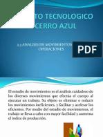 2.3 Analisis de Movimiento de Operaciones