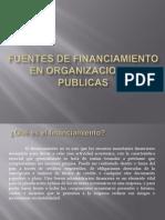 Fuentes de Financiamiento en Organizaciones Publicas