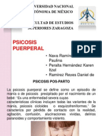 Psicosis puerperal
