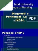 Diagnostic Peritoneal Lavage (DPL)