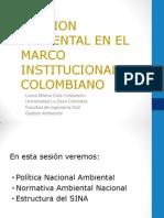 clase 5. Gesti+¦n Ambiental Institicional en Colombia