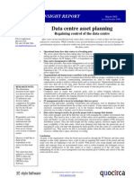 Data centre asset planning