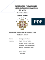 Informe Cultura Aymara