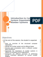Introduction to Computer System Organization