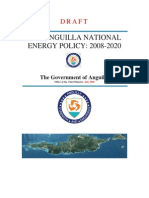 Anguilla National Energy Policy, Draft July 2008