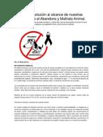 Noticias Maltrato Animal