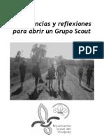 Experiencias y reflexiones al abrir un Grupo Scout