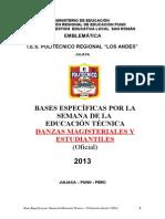 Bases Espec SET 2013 Final Danzas