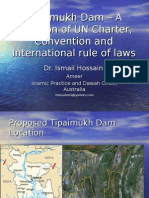 Tipaimukh Dam – A violation of UN Charter and Convention