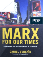 Bensaïd, D - Marx for Our Times