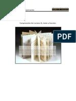 Comprensión de Lectura II, Texto y Función