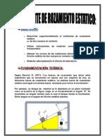 Practica Experimental Numero 2 de Fisica 2- Rozamiento de Coeficiente Estatico-janet Huaman Vera