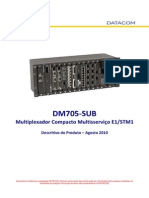 134-0020-16 - DM705-SUB Descritivo Do Produto
